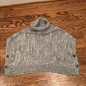 Gap M(8-9) grey poncho